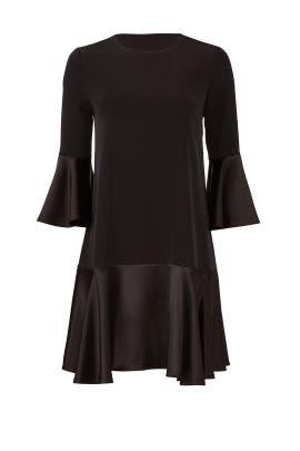 Black Trapeze Dress by Slate & Willow