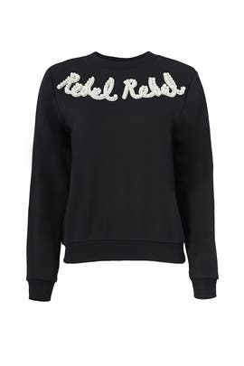 Black Rebel Sweatshirt by Endless Rose