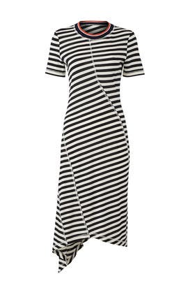 Stripe Jersey Midi by Jason Wu Grey