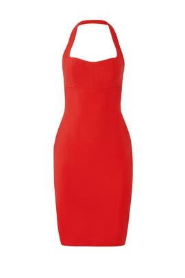 Red Dixie Dress by LIKELY