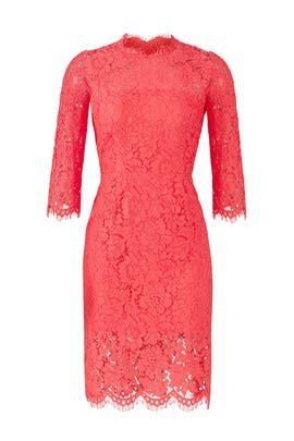 Peony Lace Sheath by Rachel Zoe