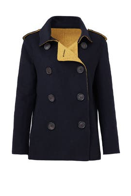 Seaside Pea Coat by 10 CROSBY DEREK LAM