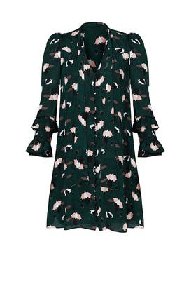 Scribble Printed Dress by 10 CROSBY DEREK LAM