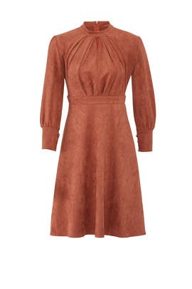 Kiera Faux Suede Dress by RAGA