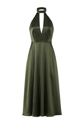 Olive Plunging Dress by Jill Jill Stuart