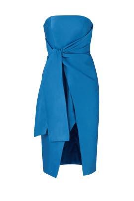 Blue Reminisce Dress by Keepsake