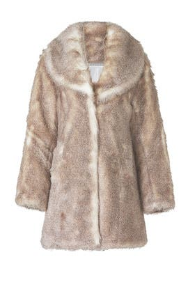Elixir Faux Fur Coat by Unreal Fur