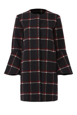 Hewes Flare Sleeve Coat by BB Dakota