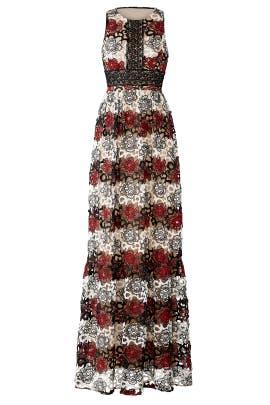 Gardenia Lace Gown by ML Monique Lhuillier