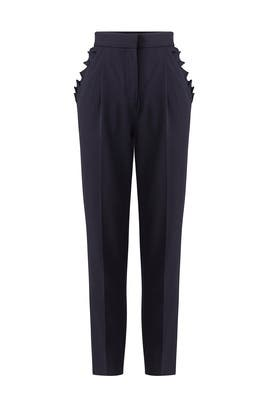 Spring Ruffle Pants by Rebecca Taylor