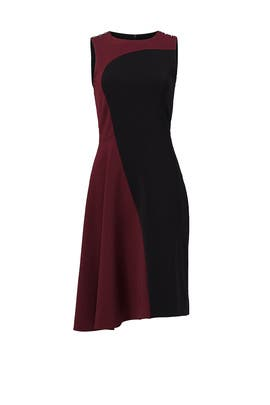 Burgundy Emmett Dress by Parker