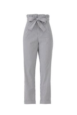 Stripe Paper Bag Pants by Waverly Grey