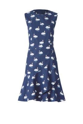 Blue Swan Dress by Draper James