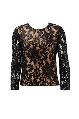 Belle Lace Top by Diane von Furstenberg
