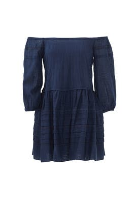 Navy Candy Shop Mini Dress by Free People