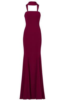 Plum Brooklyn Gown  by Jay Godfrey