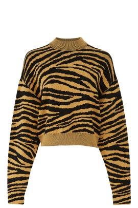 Tiger Knit Sweatshirt by Proenza Schouler