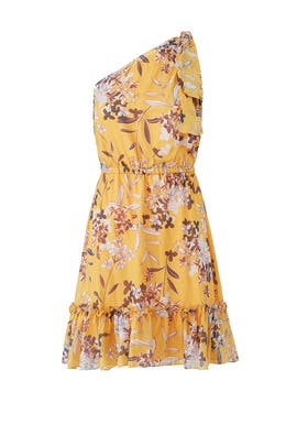 Yellow Carmela Dress by Shoshanna