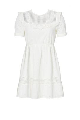White Angeles Dress by Rebecca Minkoff