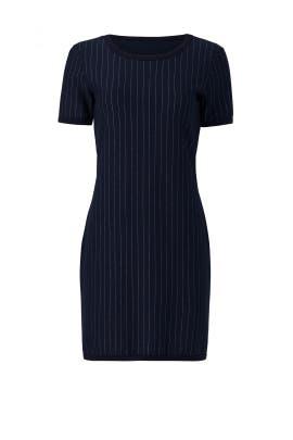 Navy Pinstripe Dress by Bailey 44
