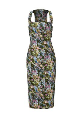 Floral Cut Out Sheath by Cushnie Et Ochs