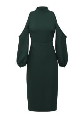 Green Power Dress by Ali & Jay