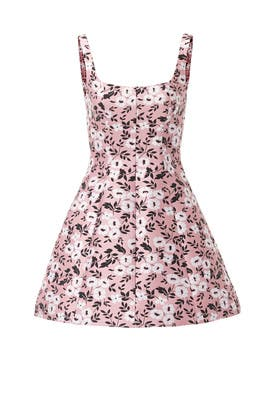 Pink Secret Garden Dress by Cynthia Rowley