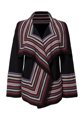 Striped Dagna Sweater by Joie