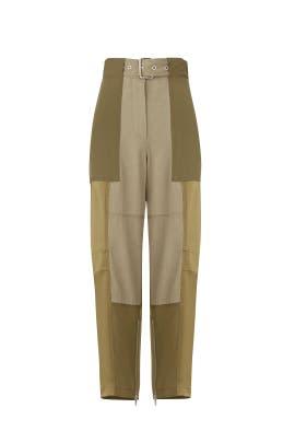 Patchwork Cargo Pants by 3.1 Phillip Lim