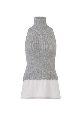 Pearl Knit Turtleneck by KAUFMANFRANCO
