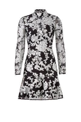 Black Illusion Dress by Adelyn Rae