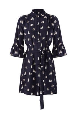 Husky Print Dress by kate spade new york