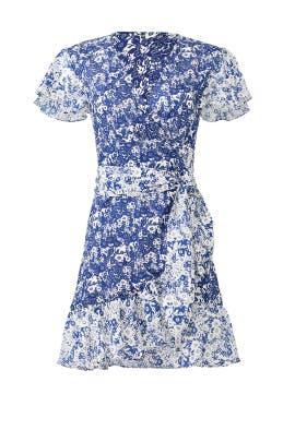 Floral Success Wrap Dress by ba&sh