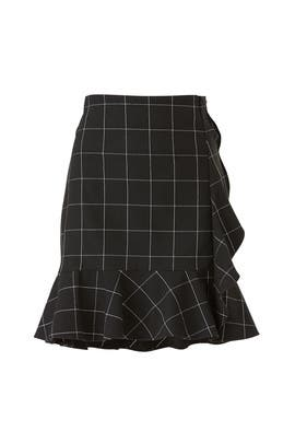 Mac Ruffle Skirt by DREW