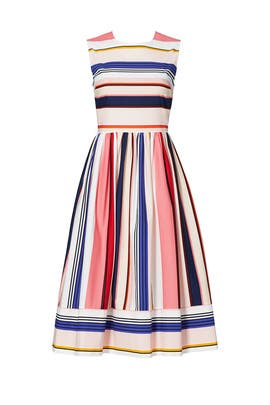 Striped Berber Dress by kate spade new york