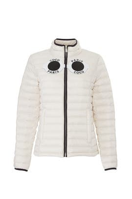 White Coco Puffer Jacket by Nil & Mon