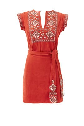 Arizona Clay Wrap Dress by Free People
