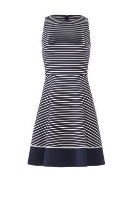 Navy Stripe Ponte Dress by kate spade new york