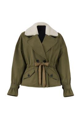 Green Annalise Jacket by Marissa Webb