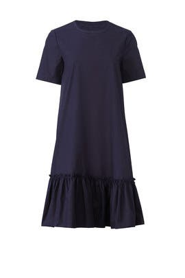 Navy Poplin Dress by Scotch & Soda