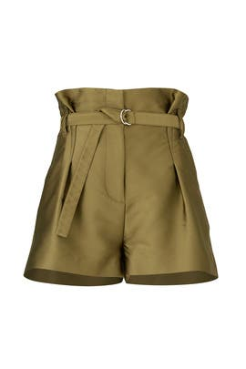 Satin Origami Shorts by 3.1 Phillip Lim