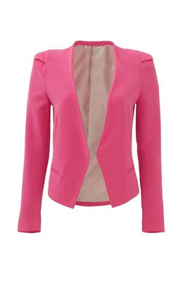 Fuchsia Refine Suit Jacket by Rebecca Taylor
