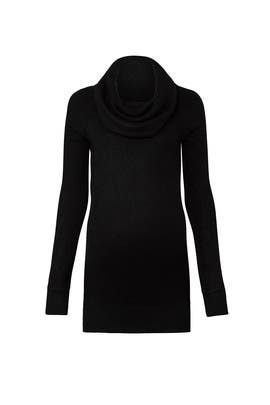 Black Cowl Maternity Sweater by Ingrid & Isabel
