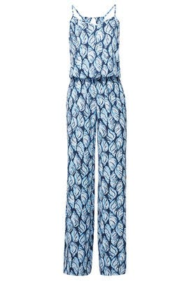 Blue Dusk Jumpsuit by Lilly Pulitzer