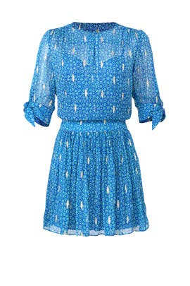 Blue Madrid Dress by ba&sh