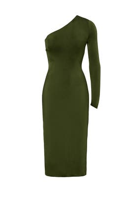 Green Claudia Dress by Cushnie Et Ochs