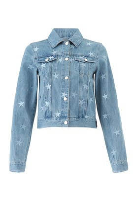 Girls Girls Girls Denim Jacket by Samantha Sipos
