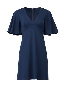 Navy Boca Dress by Amanda Uprichard