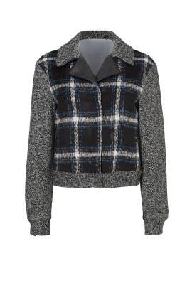 AJ Checkered Jacket by Ellie Mae