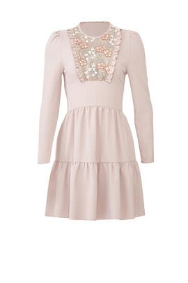 Lace Ruffle Dress by See by Chloe